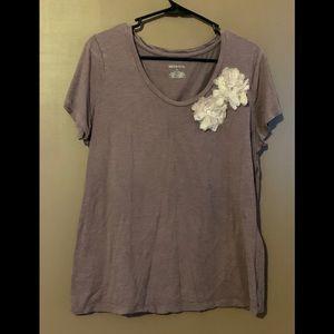 Merona XL Floral Top